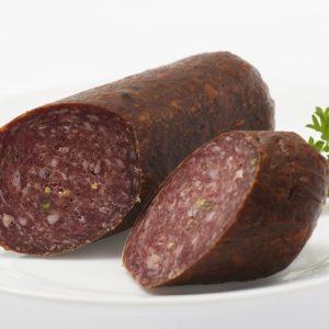 salami pfeffer stueck teller